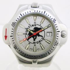 時計 ハンティングワールド 方位磁石付き メンズ腕時計 クォーツ【中古】