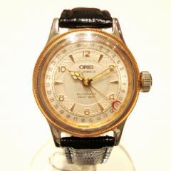 時計 オリス ポインターデイト 7400C ボーイズ 自動巻き コンビ【中古】