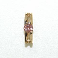 コムサデモード K10YG ペンダントトップ 天然石 中古ジュエリー