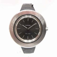 時計 オメガ デビル レディース腕時計 TOOL 101 グレー文字盤 手巻【中古】