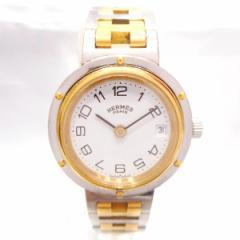 時計 エルメス Hermes クリッパー レディース 腕時計 コンビ クォーツ【中古】