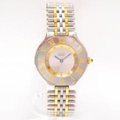時計 カルティエ Cartier マスト21 メンズ 腕時計 クォーツ 1330【中古】