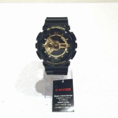 時計 カシオ G-SHOCK Black×Gold Series GA-110GB-1AJF 未使用品【中古】