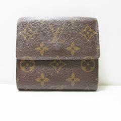ルイヴィトン Louis Vuitton モノグラム ポルト モネ.ビエ カルト クレディ M61652 財布【中古】