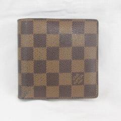 ルイヴィトン Louis Vuitton ダミエ ポルトフォイユマルコ 財布 N61675【中古】