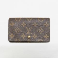 ルイヴィトン Louis Vuitton モノグラム ポルトモネ ビエ トレゾール M61730 L字ファスナー 財布【中古】