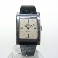 時計 オメガ デビル レディース 自動巻き 腕時計【中古】