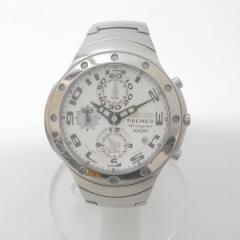 時計 セイコー プルミエ 7T62-0CY0 メンズ クロノグラフ クオーツ【中古】