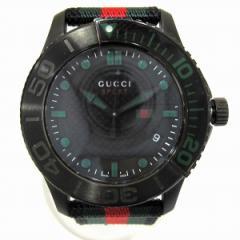 時計 グッチ GUCCI 時計  Gタイムレス スポーツ メンズ腕時計 126.2【中古】