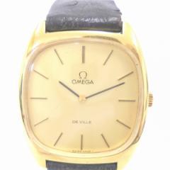 時計 オメガ デビル 手巻き メンズ時計【中古】