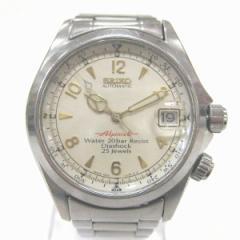 時計 セイコー SEIKO アルピニスト 自動巻 4S15-6000 メンズ 腕時計【中古】