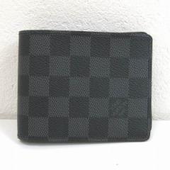 ルイヴィトン Louis Vuitton ダミエグラフィット ポルトフォイユミュルティプル 二つ折り財布【中古】