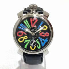 時計 ガガ ミラノ 手巻き時計【中古】