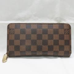 ルイヴィトン Louis Vuitton ダミエ ジッピーウォレット N60015 ラウンドファスナー 長財布【中古】