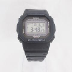 時計 カシオ G-SHOCK GW-5000 メンズ ブラック タフソーラー スクリューバッグ【中古】