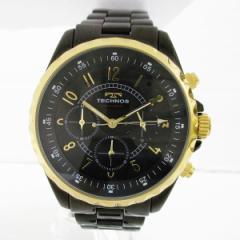時計 TECHNOS テクノス クロノグラフメンズ 腕時計 T9449【中古】