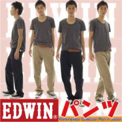 作業ズボン  作業服/作業着 ワークウェア /EDWINパンツ エドウイン EDWIN NEW LINE EDWIN-83000綿ウォッシュ加工カラーステッチパンツ