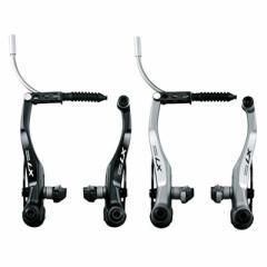 【現品特価】シマノ DEORE LX BR-T670 F/LEAD SS1 Vブレーキ 前用 【自転車】【マウンテンバイクパーツ】【V/カンチブレーキ・小物】【V