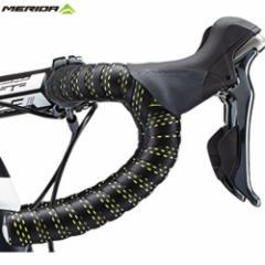 【特急】メリダ PU バーテープ ブラック×グリーン(DGR002KG)【自転車】【ロードレーサーパーツ】