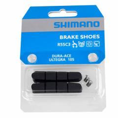【特急】シマノ デュラエース7900 カートリッジブレーキシューのみ(R55C3) 【自転車】【ロードレーサーパーツ】【ブレーキ】