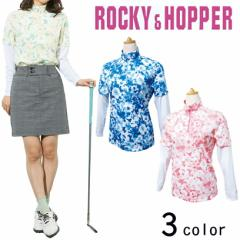 ROCCY&HOPPER 長袖レイヤードZIPハイネックシャツ RH-1714SL