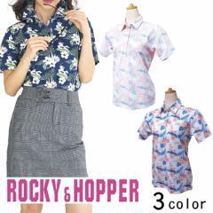 ROCCY&HOPPER 半袖台襟シャツ RH-1719SL