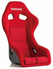 BRIDE ZETA3 PLUS(ジータ3プラス) レッドロゴ FRP製  品番 H31IMF