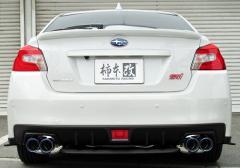 【代引手数料無料】柿本改 カキモトレーシング Class KR スバル WRX S4 VAG用 リアピースのみ(B71354R)