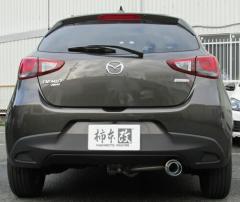 【代引手数料無料】柿本改 カキモトレーシング GT box 06&S マツダ デミオ XD 4WD DJ5AS用(Z44333)