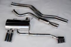 アーキュレー ステンレス スポーツマフラー BMW E90 323i/325i/330i セダン E91 325i ツーリング用  商品番号 8031AU37