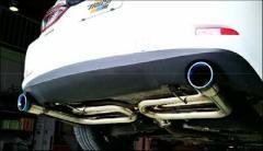 TRUST GReddy コンフォートスポーツ GTスラッシュマフラー マツダ アテンザ セダン XD/XD-L GJ2FP用(10140713)