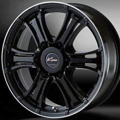 5ZIGEN KOMA ブラックマン ブラック 15インチ ホイール単品 4本セット