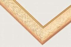 ジグソーパズル用 ゴールドモール木製パネル クリア− (MP107) 73.5×51cm [10-T] 【フレーム 枠 額 わく ワク ビバリー】