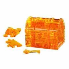 クリスタルパズル トレジャーボックス 50088 【3Dジグソーパズル 立体パズル ビバリー】