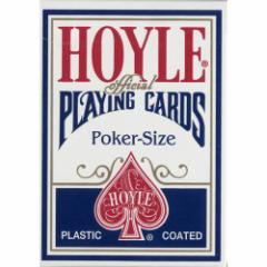 トランプカード ホイルカード ポーカーサイズ (青/ブルー) 【HOYLE 正規代理店仕入品 USプレイングカード社製】
