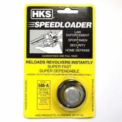 HKS リボルバーガン用スピードローダー 586-A 【S&W M586、M686等用 実銃用パーツ スミス&ウエッソン SPEEDLOADER】