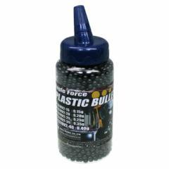 イーグルフォース プラスチック・BBブレット 0.40g V2 2000発 ボトル入(6mm弾・グレー) 【BB弾】