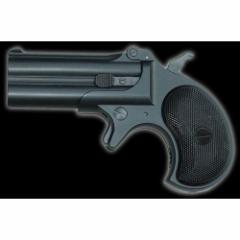 マルシン工業 8mmBBガスガン デリンジャー バリュースペック ブラックABS 【小型ハンドガン ダブルデリンジャー ダブルバレル】