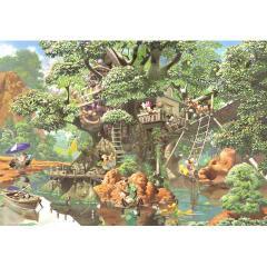 ジグソーパズル 1000ピース ディズニー ふしぎの森のツリーハウス D-1000-369 【ミッキーと仲間たち テンヨー】