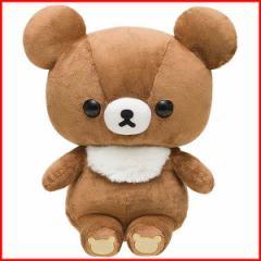 リラックマ ぬいぐるみ (Lサイズ・チャイロイコグマ) MR94401 【スタンダード ヌイグルミ りらっくま 熊 サンエックス製】