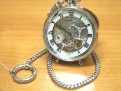 TISSOT 懐中時計 ティソ 腕時計 ポケットウォッチ Stand Alone スタンド アローン ハンターケース T86670133 【正規輸入品】