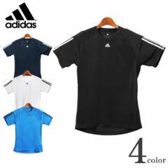アディダス ADIDAS クライマ ベース 3S Tシャツ BHL49 メンズ スポーツ 運動 トレーニング ウェア