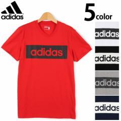 アディダス ADIDAS 半袖Tシャツ ESS LIN Tシャツ  メンズ