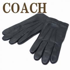 コーチ COACH メンズ グローブ 手袋 レザー カシ...