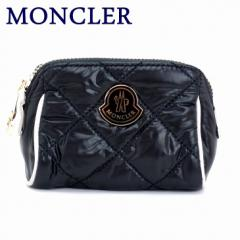 モンクレール ポーチ MONCLER ダウン コスメポーチ 化粧ポーチ 小物 ロゴ 6000200-68950-999
