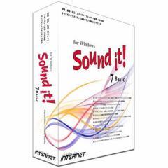 インターネット  【送料無料】 SIT70W-BS Sound it! 7 Basic for Windows (SIT70WBS) 【新品・税込】