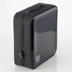 エレコム  【送料無料】 CCD-H320BK CD/DVDケース/セミハード/ファスナー付/320枚入/ブラック (CCDH320BK) 【新品・税込】