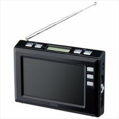 ヤザワ  【送料無料】 TV03BK 4.3インチディスプレイ ワンセグラジオ(ブラック) 【新品・税込】