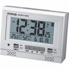 MAG  【送料無料】 T-694-SM-Z デジタル電波時計「エアサーチ グッドライト」(銀メタリック) (T694SMZ) 【新品・税込】