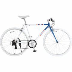 ビーズ【送料無料】 420-BD ドッペルギャンガー 700c クロスバイク 7段変速 SCALPEL(スカルペル)(マリンボーダー)  【新品・税込】